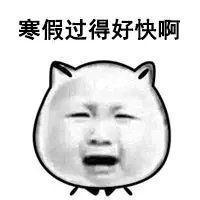 寒假过得好快啊表情包学生用的表情包qq表情包.jpg