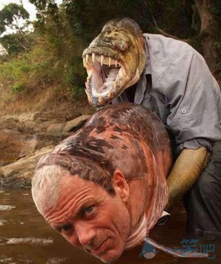 搞笑PS图片—知道鱼是怎么想的了吧